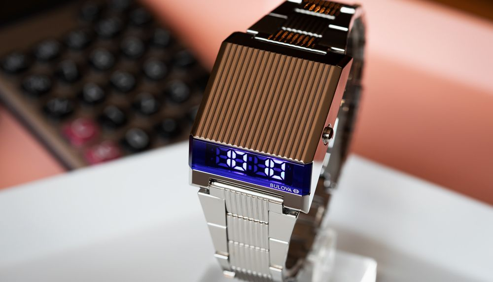 New Bulova Computron Watch Is The Led Quartz Throwback We