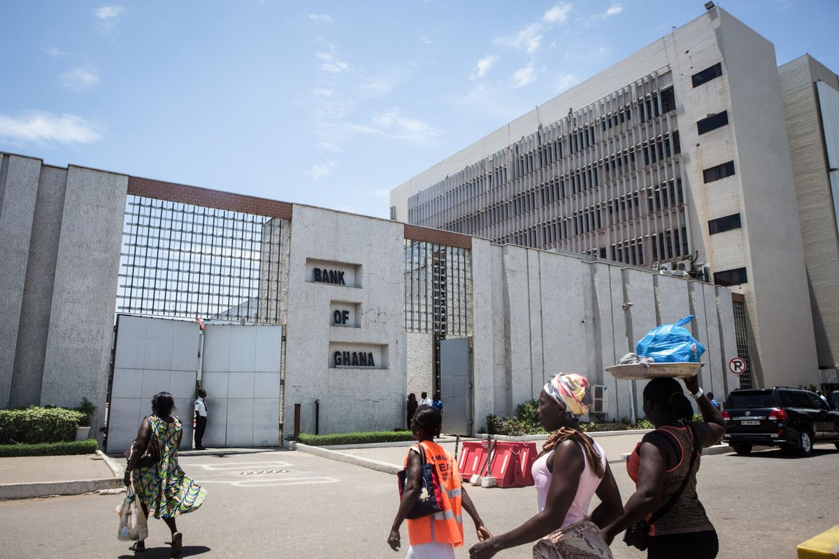 Ghana Central Bank Leaves Key Interest Rate Unchanged at 16%