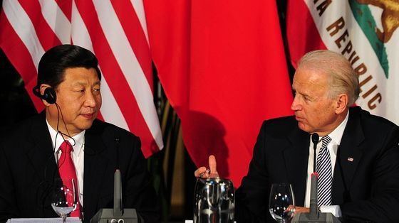 Xi Picks Opportune Time to Cool Tensions With Biden Meeting