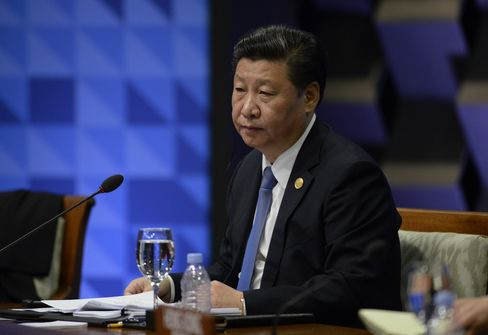 Xi Jinping at APEC today