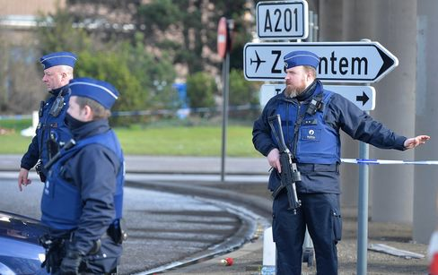 Security Measures in Brussels after terror attacks