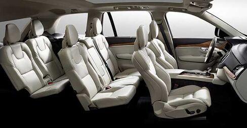 Seven-seat interior
