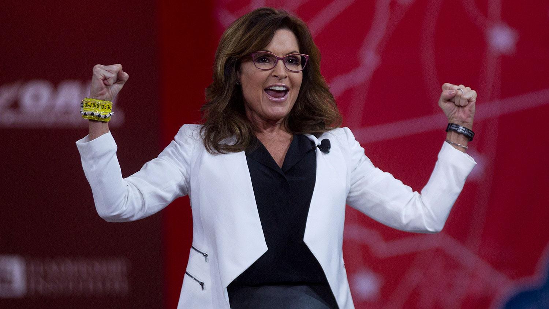 Palin speaks
