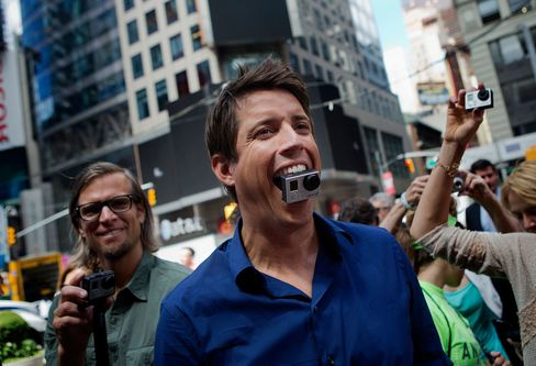 Nick Woodman, founder and chief executive officer of GoPro Inc., tops the list as the highest-paid executive in 2014.