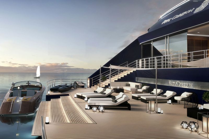 RitzCarlton Yacht Collection Is Building The AntiCruise Ship - Cost to build cruise ship