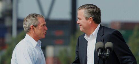 Bush Speaks On The Economy In Miami