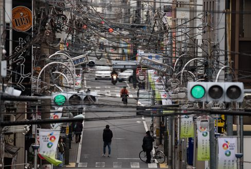 Powerlines In City As Tokyo Chases London, Paris Clear Sky With $71 Billion Project