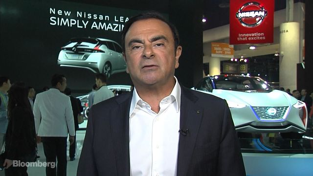 Carlos Ghosn chairman of Alliance Ventures discusses the future of autonomous cars