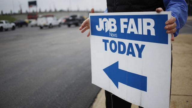 Job market looks solid 8 years after recession ended