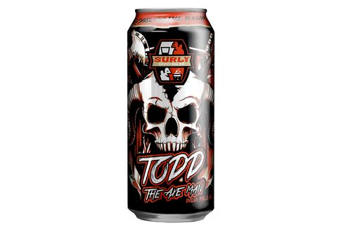Surly Brewing's Todd the Axe Man.