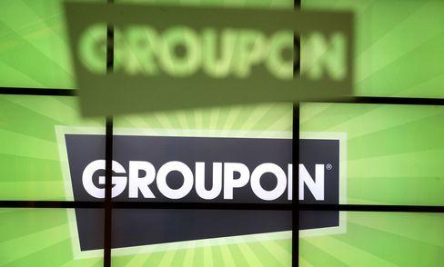Groupon Shares Plunge for Second Day