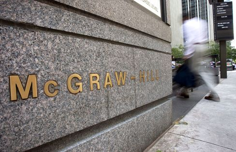 McGraw-Hill's S&P Imperils $4.6 Billion Gain: Corporate Finance