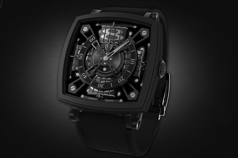 a 95 000 mct watch made with vantablack bloomberg