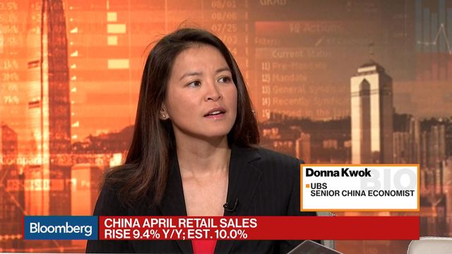 Donna Kwok UBS Senior China Economist discussses China's retail sales and industrial production data