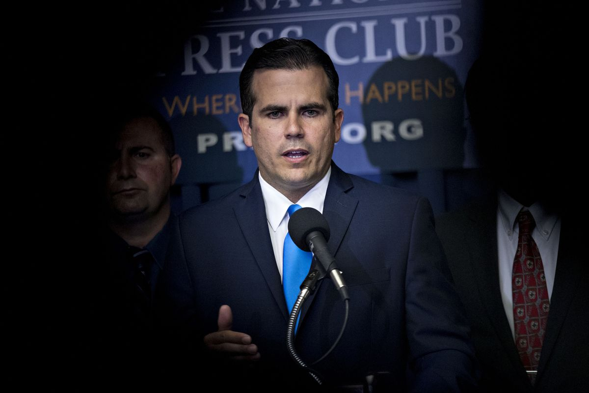 Puerto Rico Governor to Meet With Trump at the White House Today