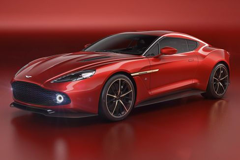 This is the fifth car that the British auto brand and the Italian design house have made together.