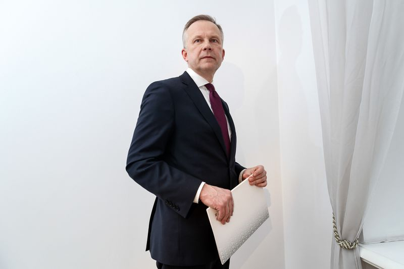 Latvian Central Bank Bars Governor as Resignation Calls Grow - Bloomberg