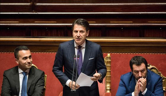 Italy's Populists Try to Put to Rest Rumors Government Is Doomed
