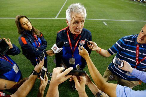 Soccer Coach Tom Sermanni