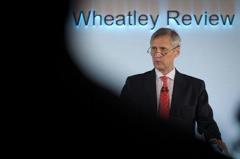 FSA Managing Director Martin Wheatley