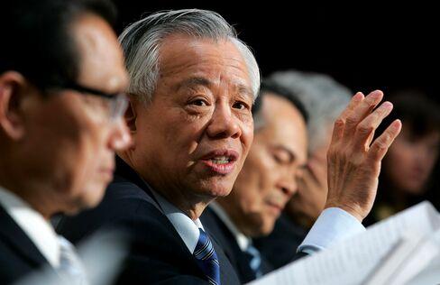 Taiwan's Central Bank Governor Perng Fai-nan