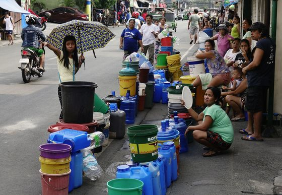 Worsening Water Shortage in Philippines Triggers Probe