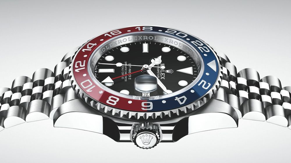 New Rolex Gmt Master Ii Pepsi In Stainless Steel At Baselworld