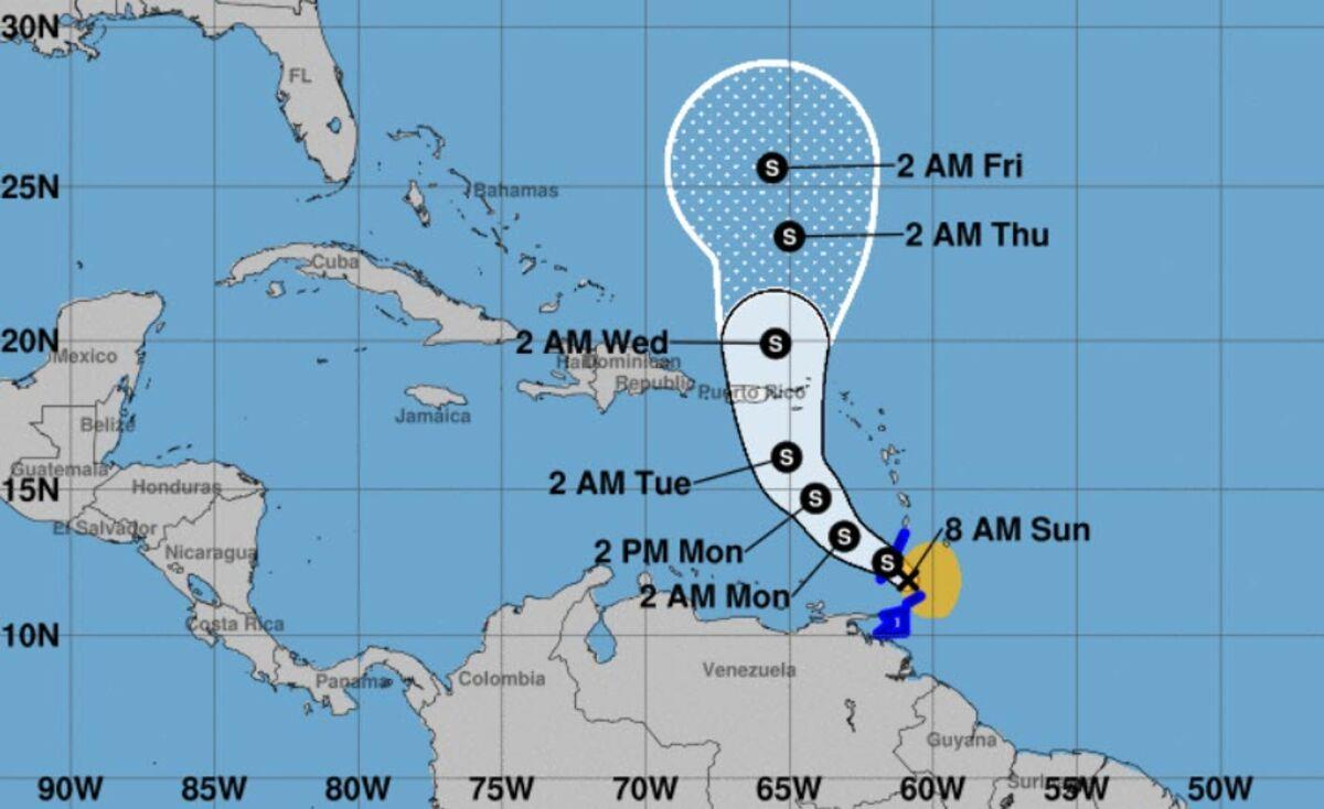 Eleventh Named Storm of Hurricane Season Develops in Atlantic