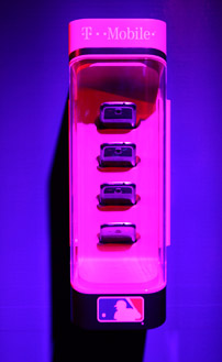 T-Mobile's dugout-to-bullpen system, revealed at the 2013 CES.