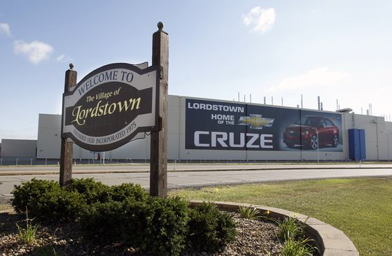 GM Pullback Imperils Cities Where Factories Are Tax Lifeline
