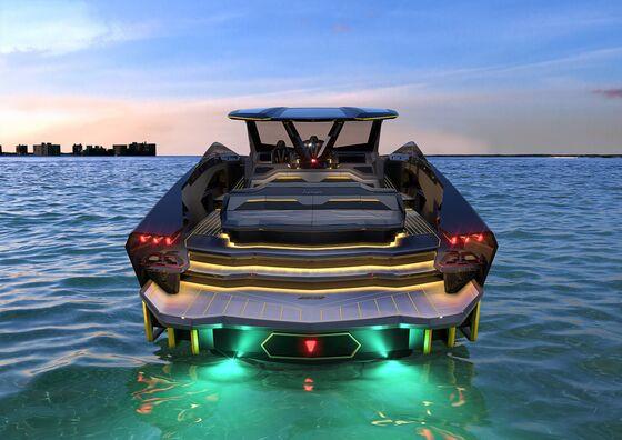 Lamborghini's New$3.4 MillionYacht Has Splashy Supercar DNA