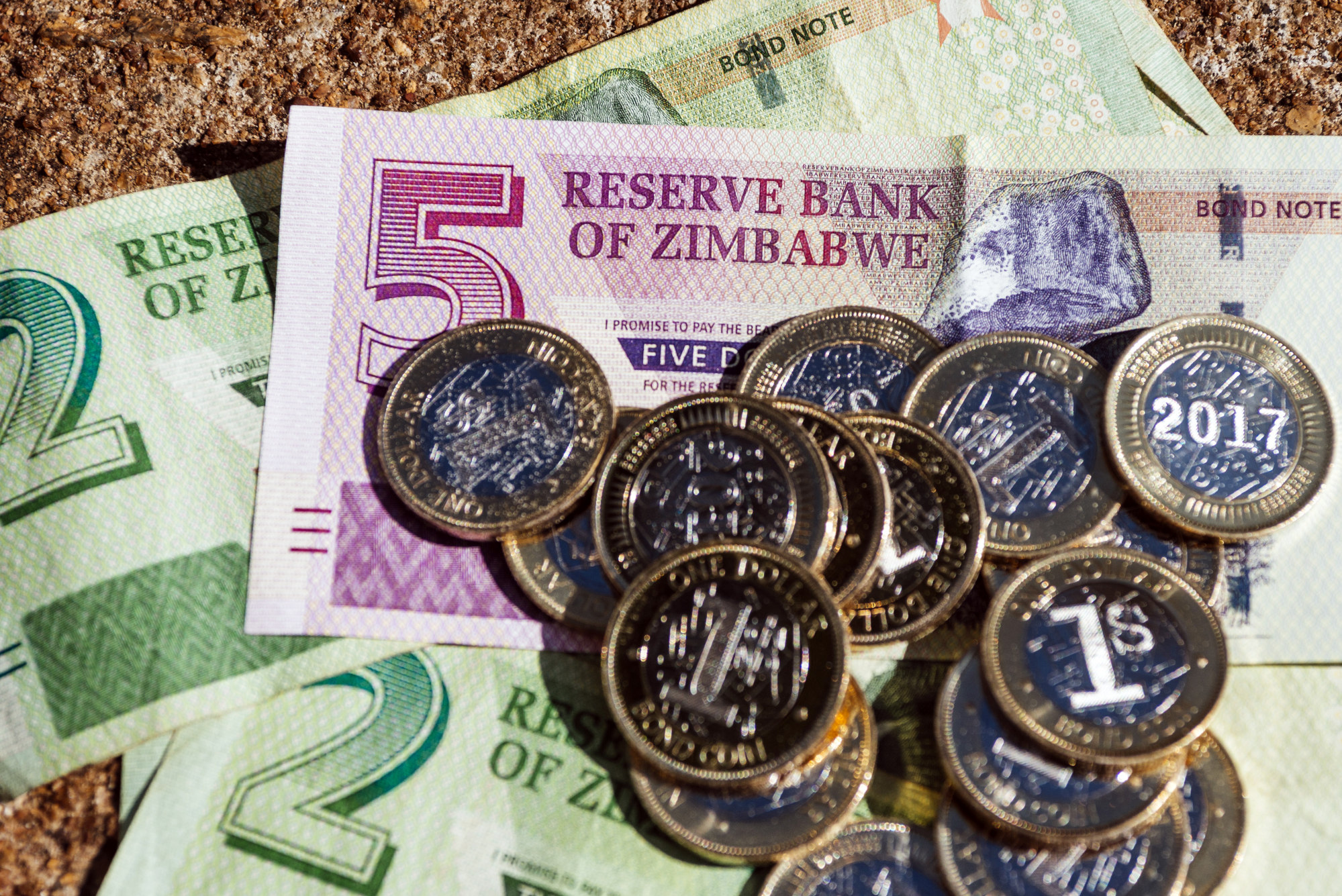 Zimbabwe's Quasi-Currency Continues on Its Precipitous Slide