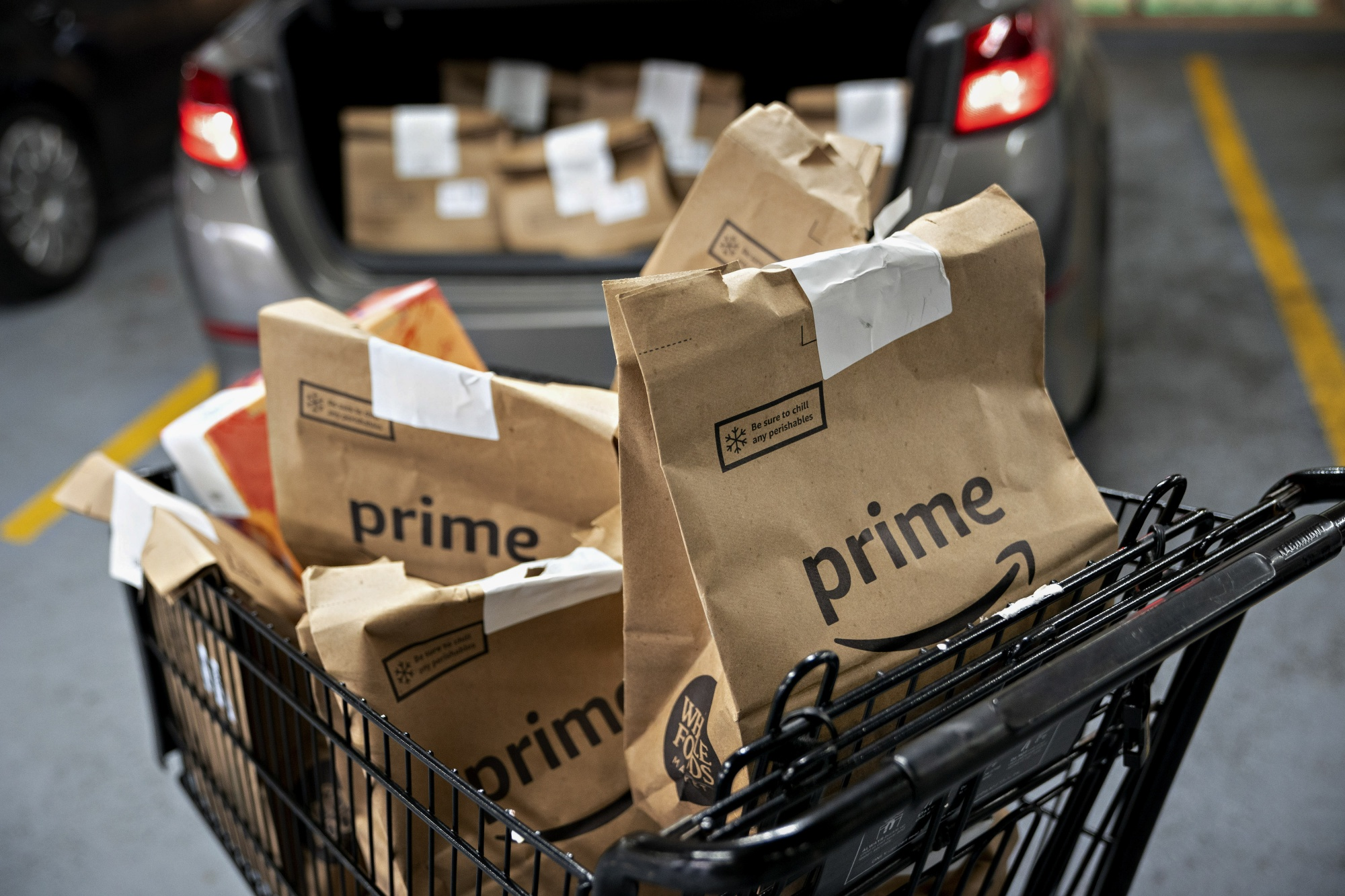 Amazon.com Inc. Prime Deliveries As Workers Demand Better Pay