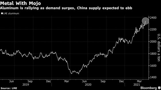 Alcoa Reaches Two-Year High as Aluminum Rally Supercharges Sales