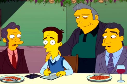 Wharton MBA Becomes Mob Boss ... on The Simpsons
