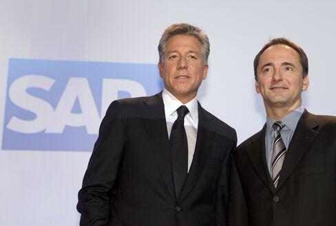 SAP Second-Quarter Net Income Advances 13% on Software Demand