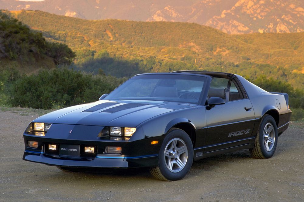 The Iroc Z Is Your Best Investment For A Classic Camaro Bloomberg