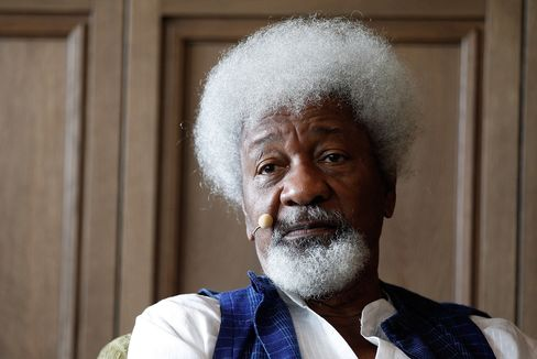 Africa's first Nobel laureate for Literature Wole Soyinka