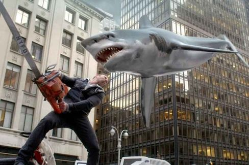 Syfy Master Plan for Sharknado 2 Actually Worked