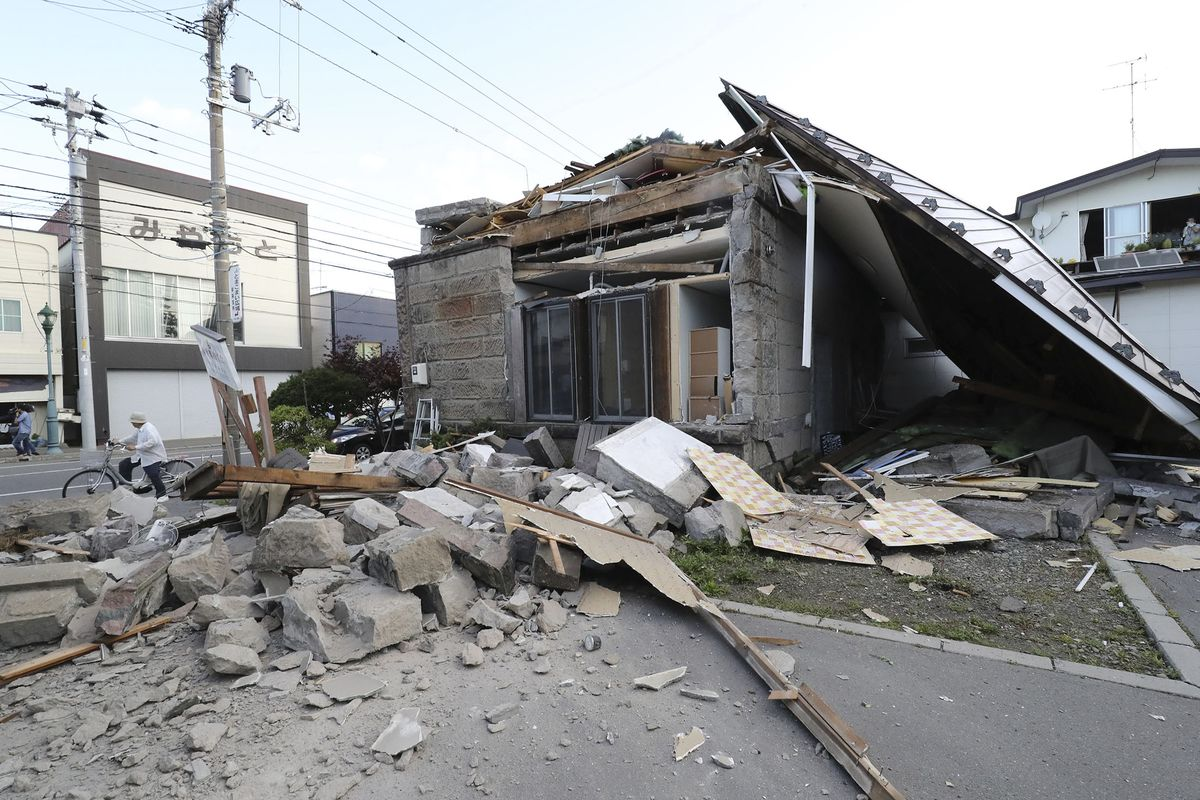 youtube japan landslide earthquake today - HD 1200×800