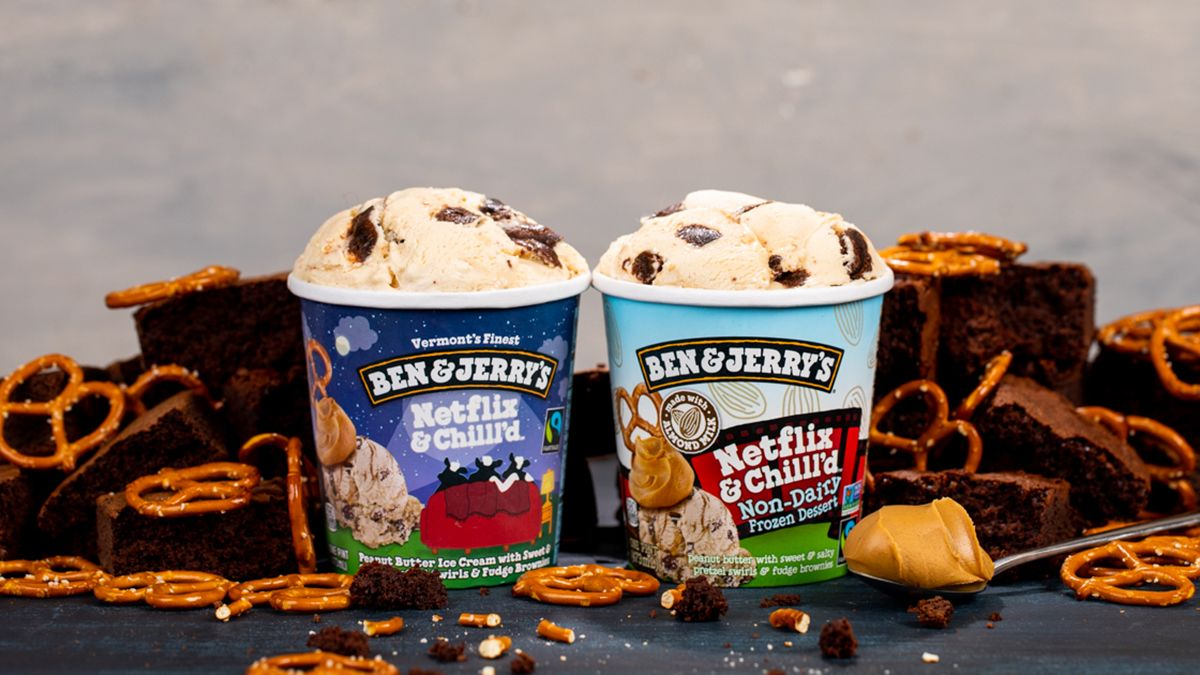 Ben & Jerry's Pints Are Ready for 'Netflix and Chill'