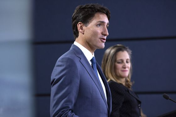 Trudeau Switching Out Freeland as Top Diplomat, Reports Say