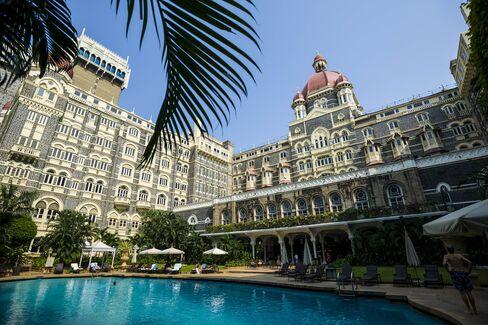 The Taj Mahal Palace Hotel in Mumbai.