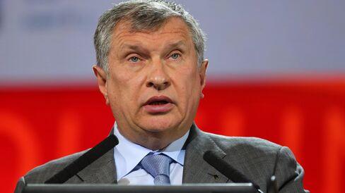 Rosneft Head Igor Sechin