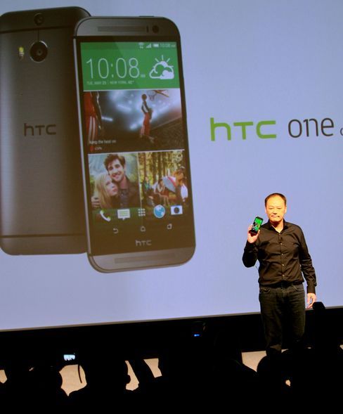 HTC CEO Peter Chou Introduces The HTC One M8