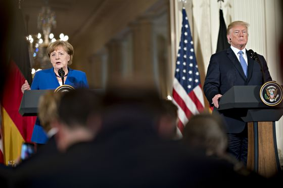Merkel Confronts a Defining Moment as the Global Order Realigns