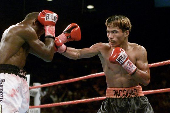 Back in the Ring, Manny Pacquiao Battles the Ghost of MuhammadAli
