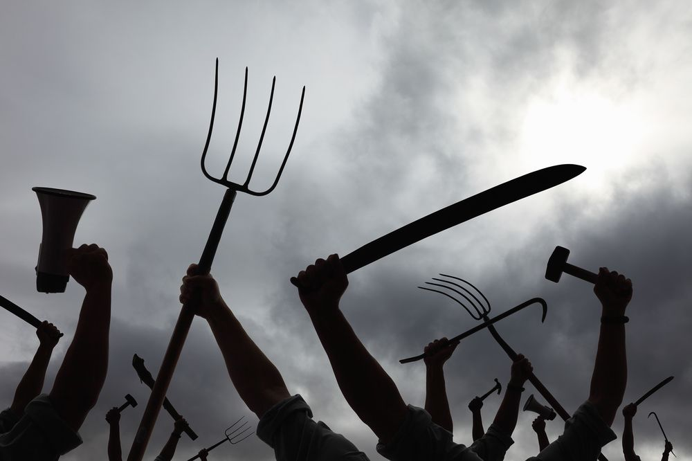 Investor: Peasants Will Be Out With Pitchforks if We Don't Start ...