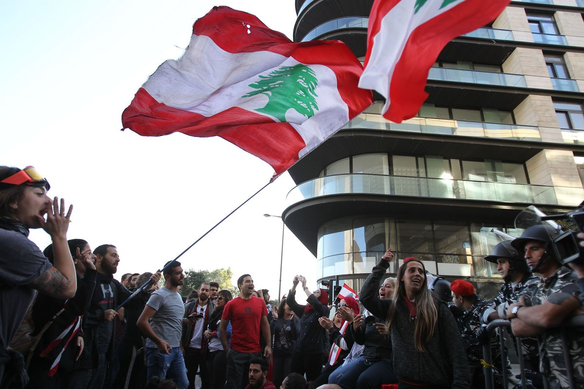 Why Lebanon Protesters Target Religion-Based Politics