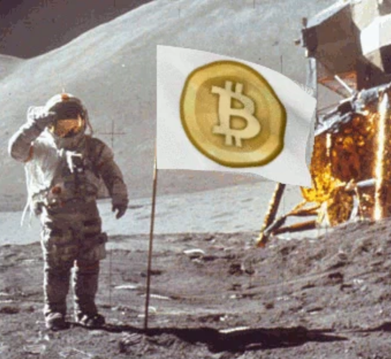 The Bitcoin to the Moon Refrain Grows Louder